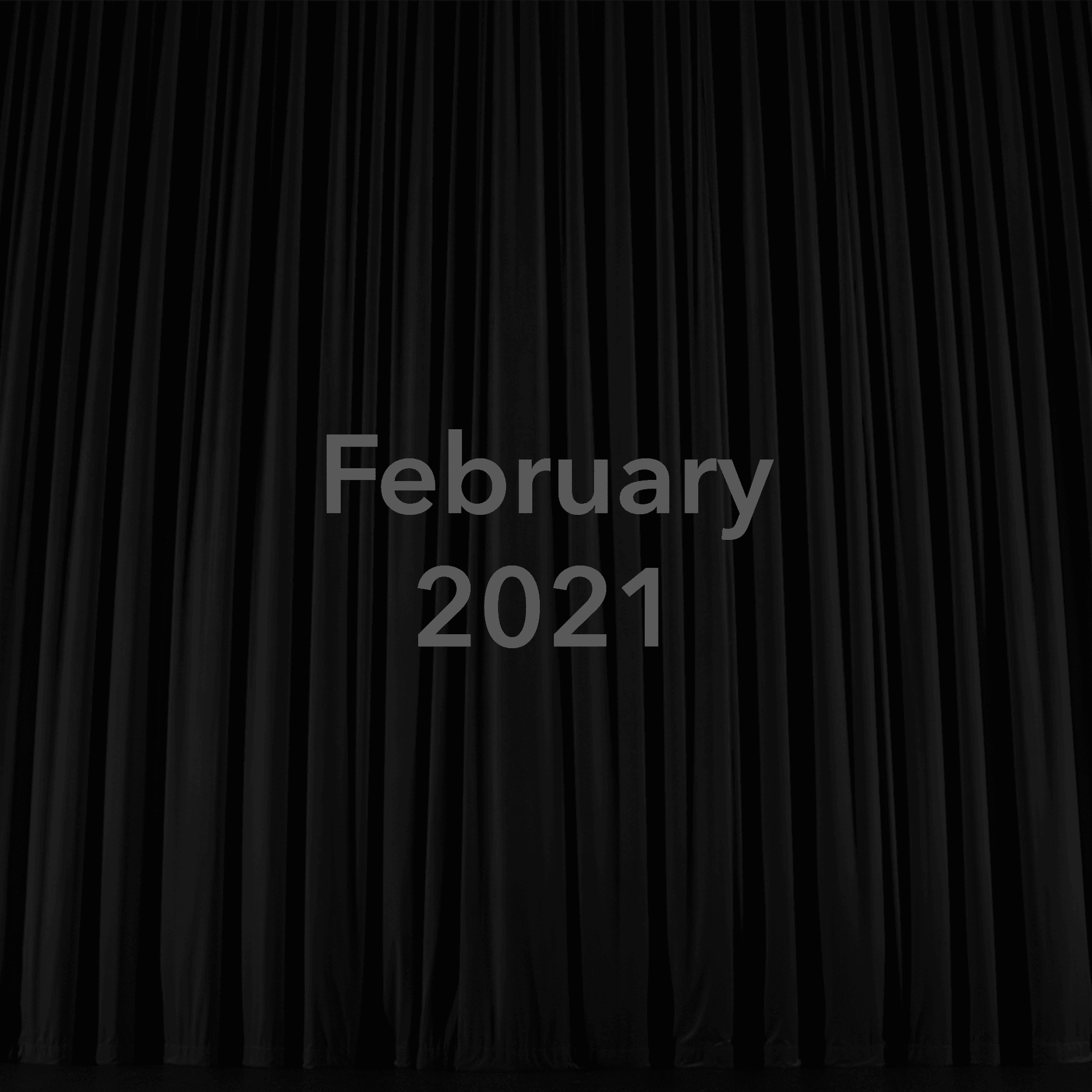 February 2021 Show Placeholder