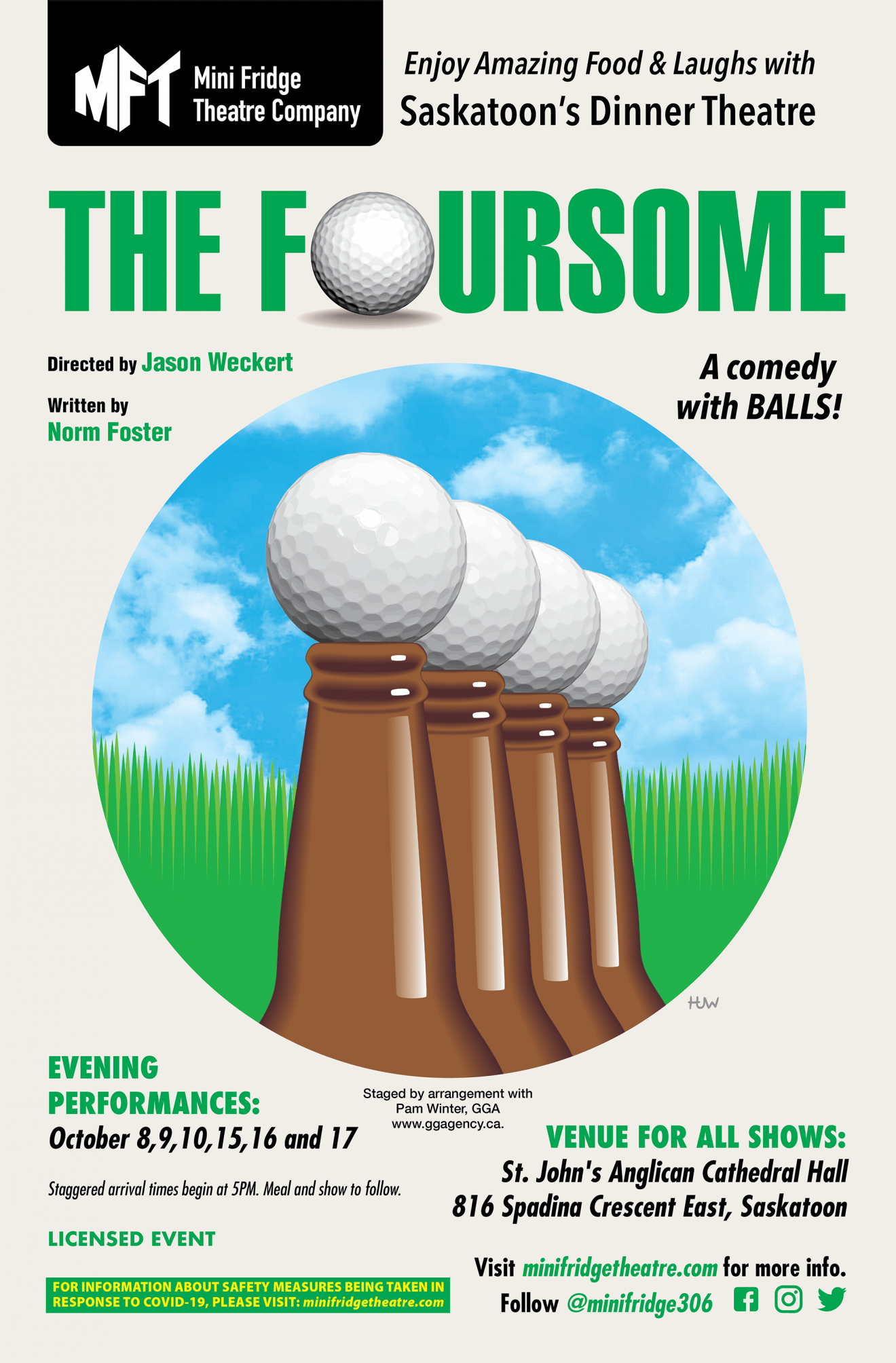Foursome web poster
